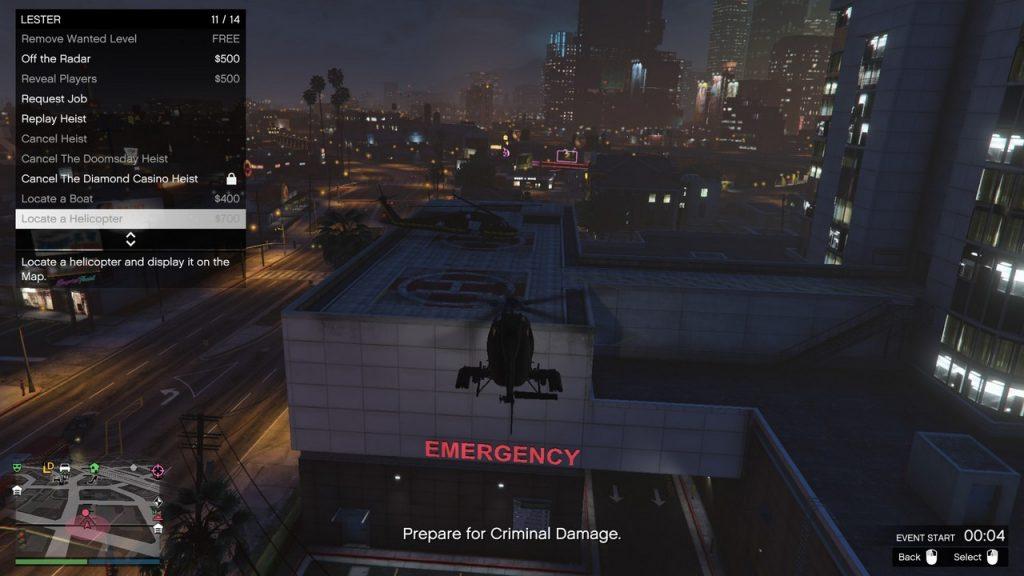 GTA 5 Online damage