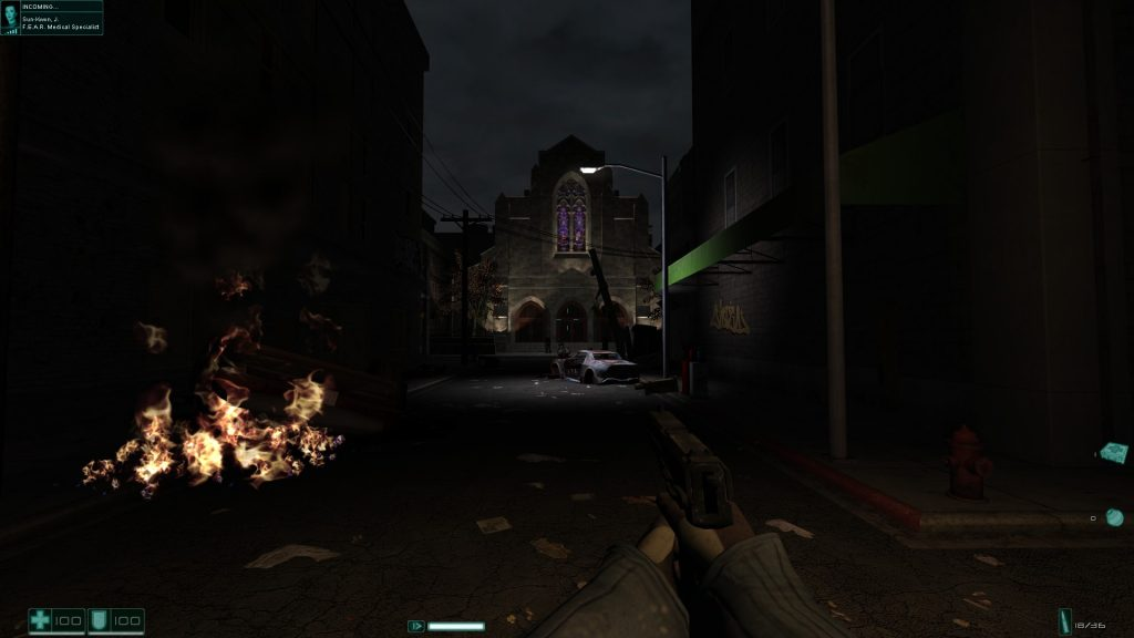 F.E.A.R. Extraction Point screenshot