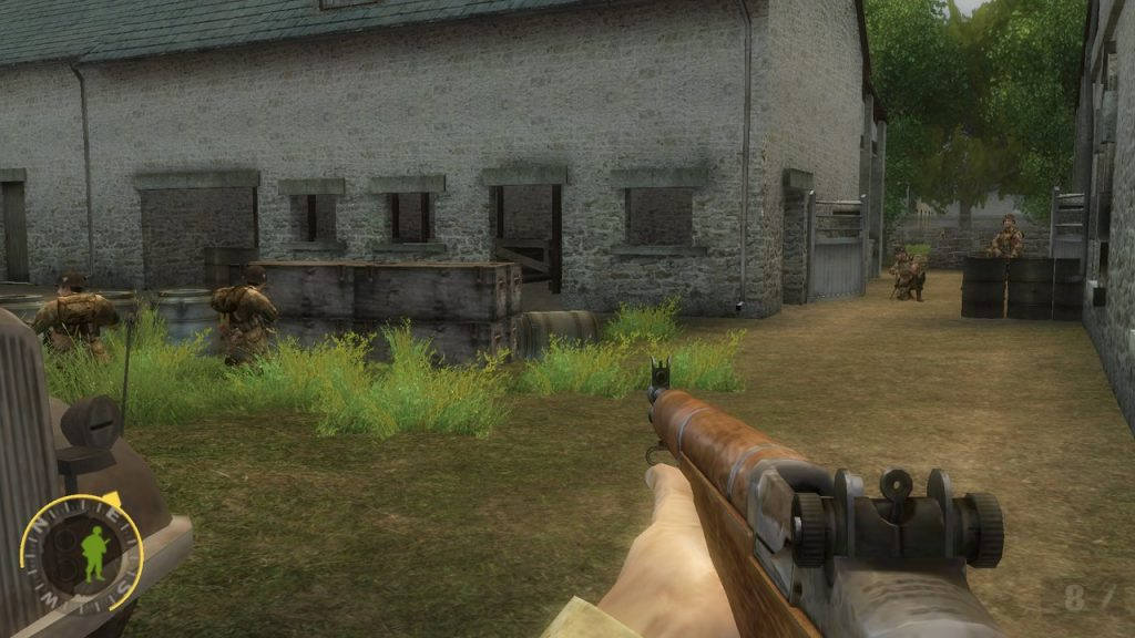 brothers in arms road to hill 30 screenshot