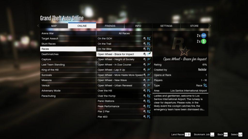 GTA 5 Online munkák