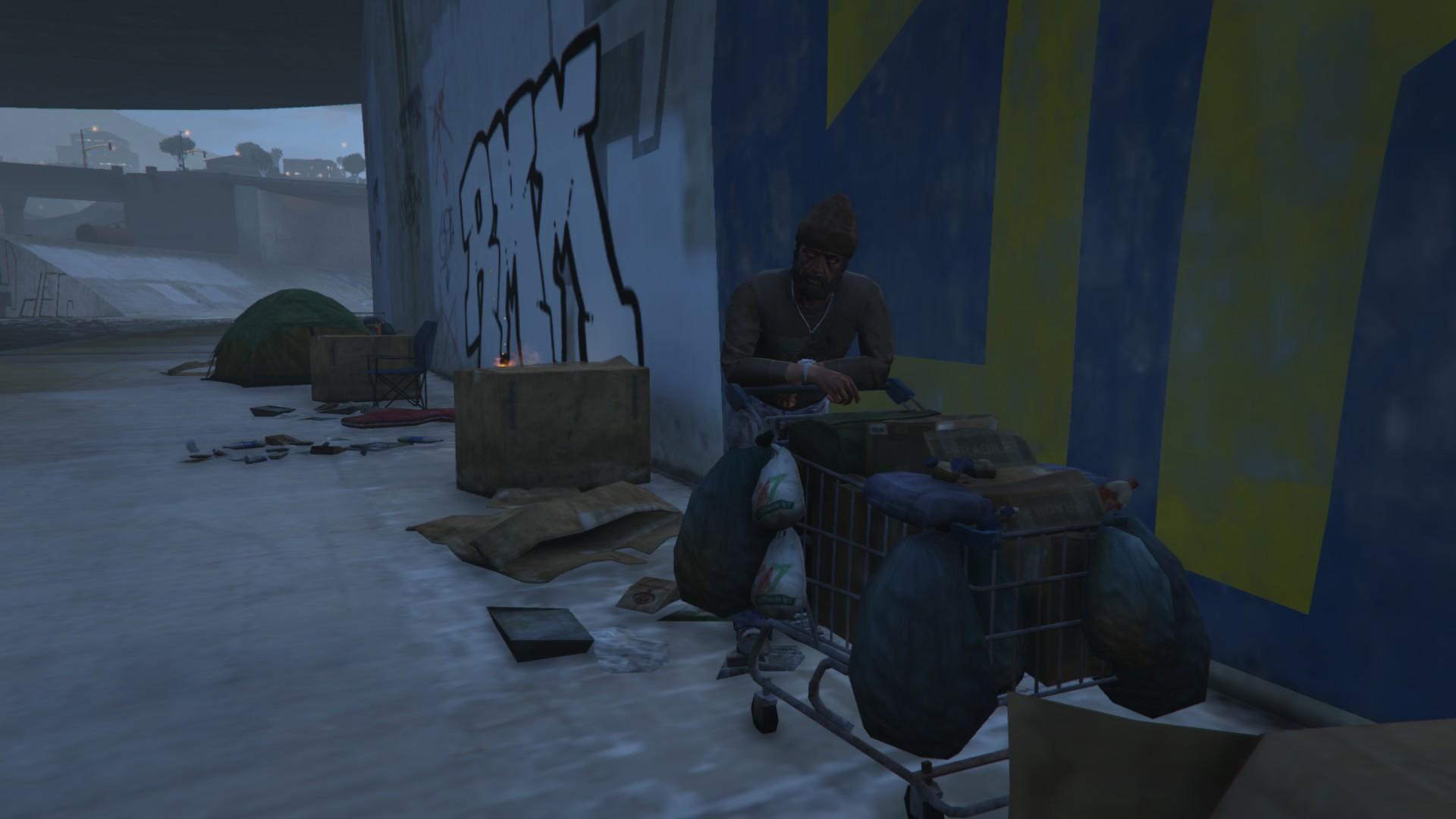 GTA Online hajléktalan