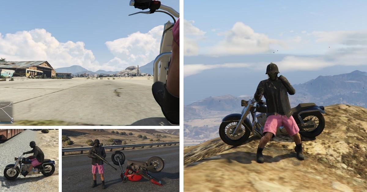 gta online mad biker