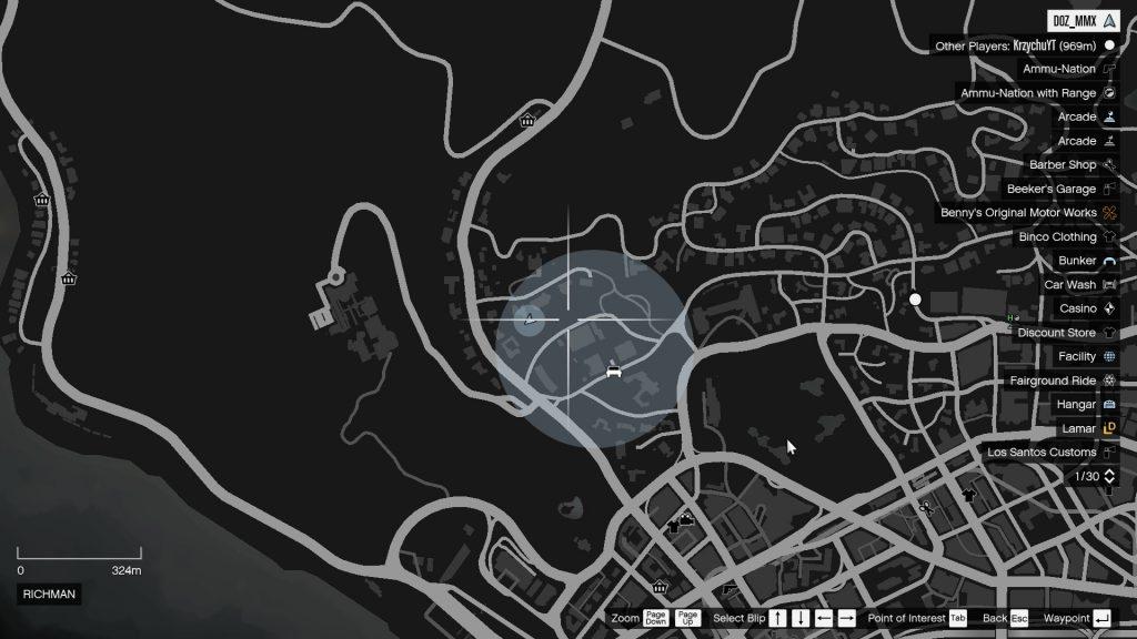 GTA Online térkép