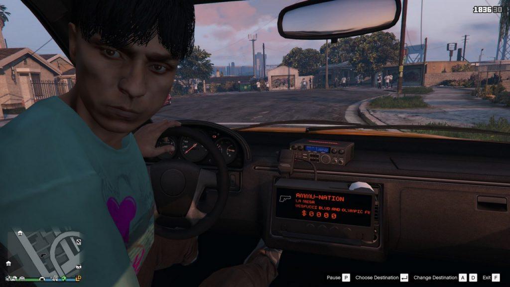 gta online taxi