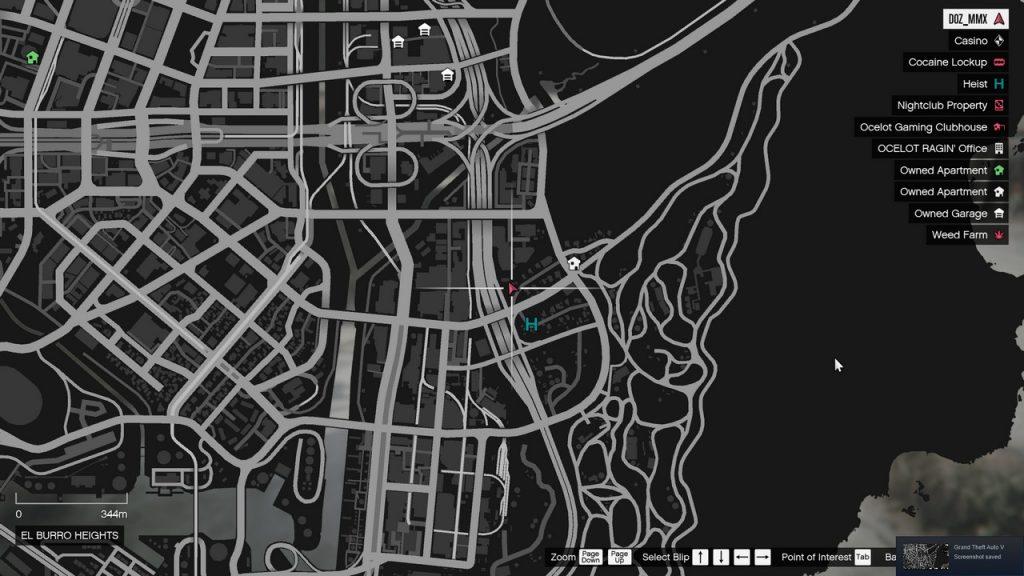 San Andreas rejtekhely
