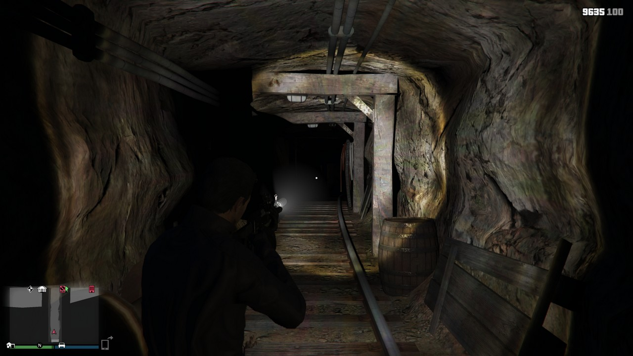 san andreas underground