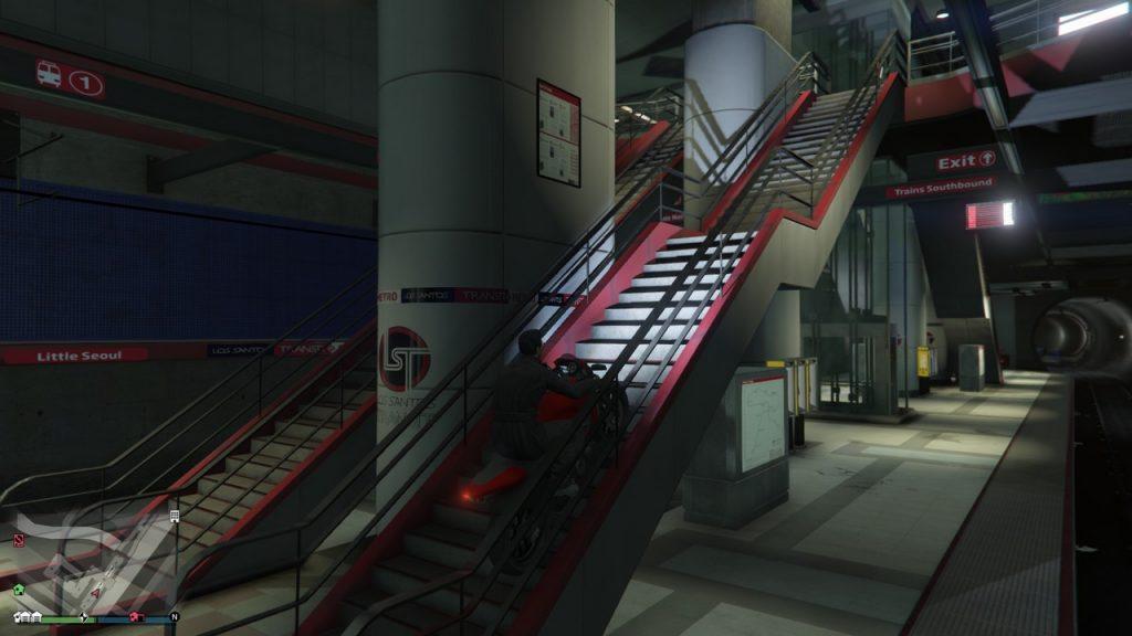 GTA Online metróállomás