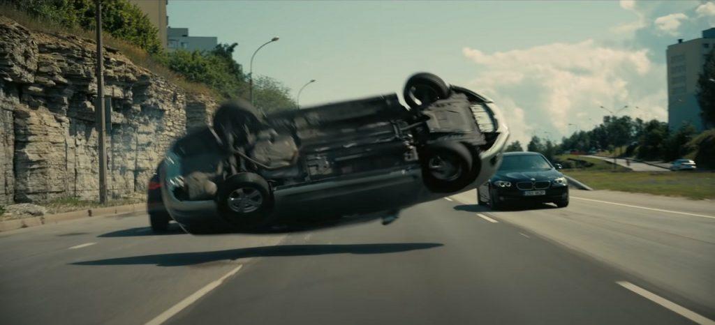 Tenet autós stunt