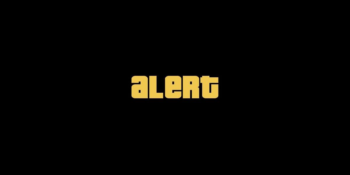gta online alert