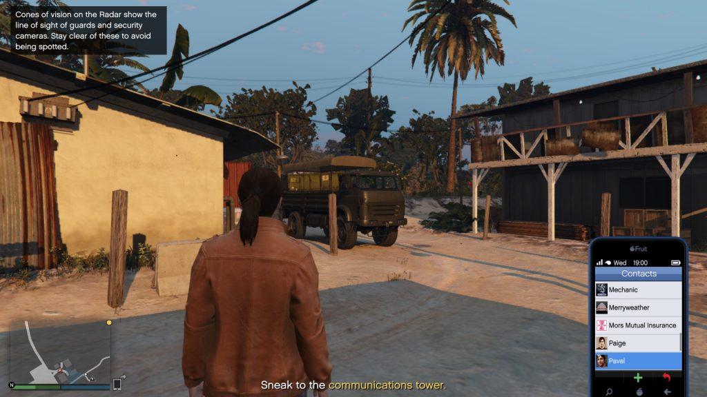 Cayo Perico scoping