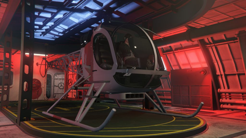 Sparrow helikopter