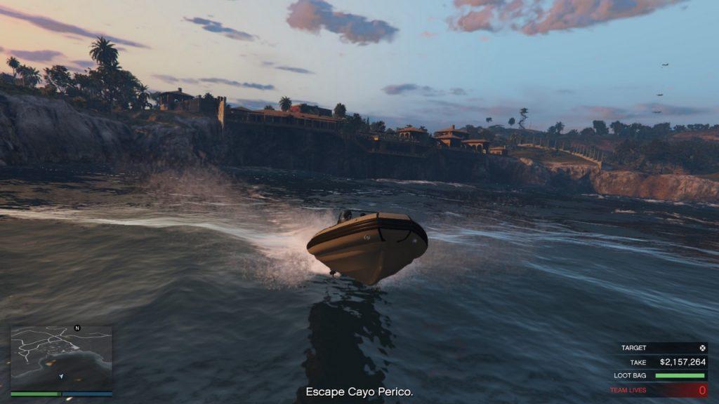 cayo perico csónak