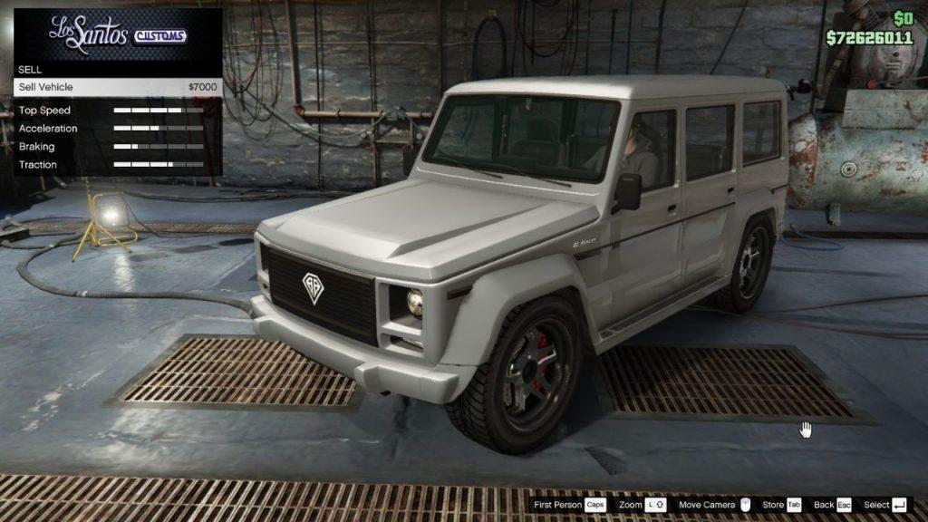 GTA Online NPC autók eladása a Los Santos Customsben