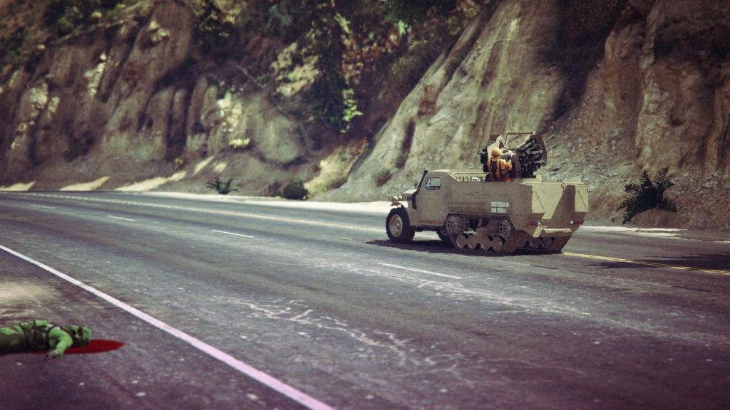 motor wars half-track