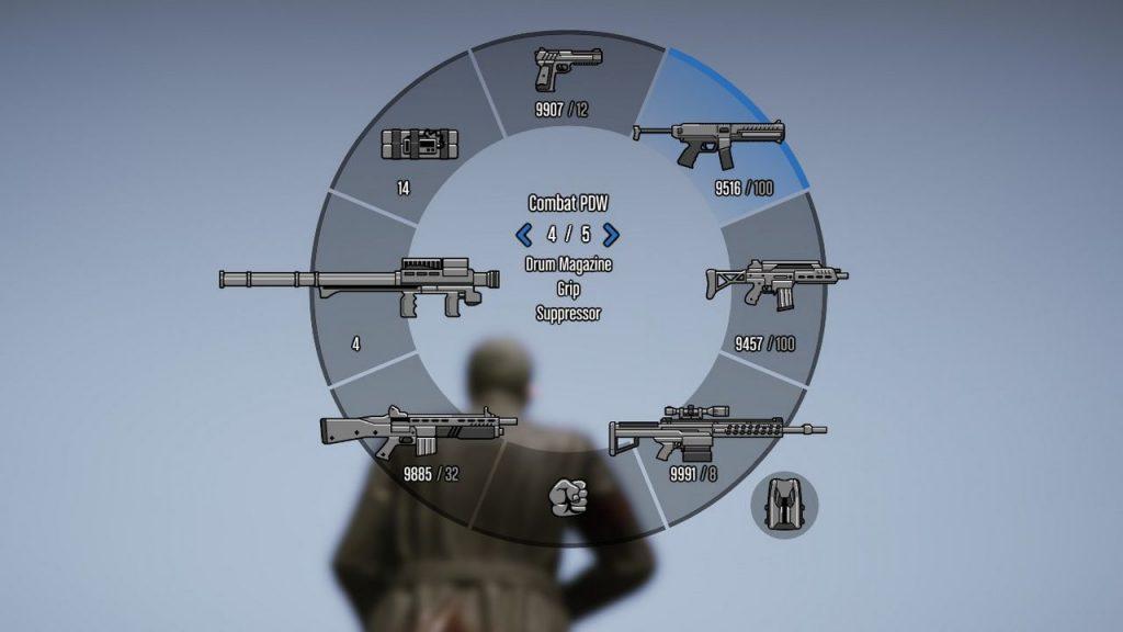 gta 5 weapon wheel
